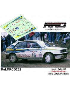 Lancia Delta HF Deila-Giachino Rally Catalunya 1989