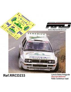 Lancia Delta Integrale Ducruet-Delorme Rally Catalunya 1986