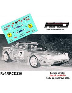 Lancia Stratos Darniche-Mahe Rally Costa Brava 1976
