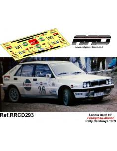Lancia Delta HF Franquesa-Alonso Rally Catalunya 1989