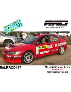 Mitsubishi Lancer Evo 9 Fores-Haro Rally Catalunya 2010