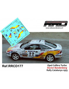 Opel Calibra Turbo Doctor-Bandenberg Rally Catalunya 1993