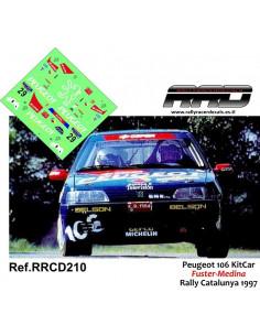 Peugeot 106 KitCar Fuster-Medina Rally de Catalunya 1997