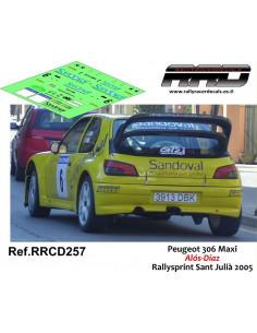 Peugeot 306 Maxi Alos-Diaz Rallysprint Sant Julia 2005