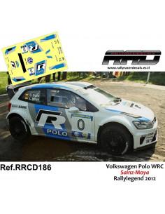 Volkswagen Polo WRC Sainz-Moya Rallylegend 2012