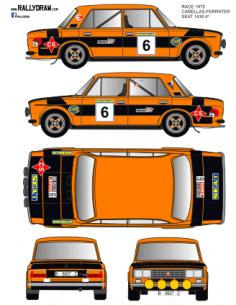 Seat 1430-124 Cañellas Race 1975