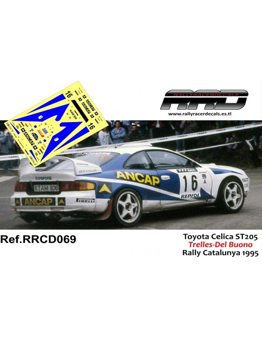 Toyota Celica ST205 Trelles-Del Buono Rally Catalunya 1995