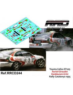 Toyota Celica ST205 Kankkunen-Grist Auriol-Giraudet Rally Catalunya 1995
