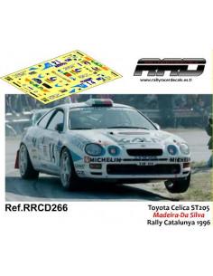 Toyota Celica ST205 Madeira-Da Silva Rally Catalunya 1996
