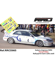 Subaru Impreza WRX Porcel-Viñas Rallysprint Sant Julia 2008