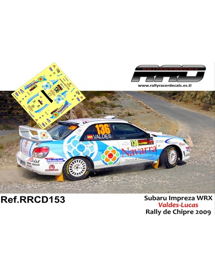 Subaru Impreza WRX Valdes-Lucas Rally de Chipre 2009