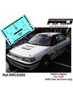 Subaru Legacy Dor-Viale Rally Tour de Corse 1993