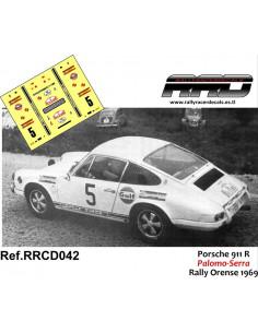 Porsche 911R Palomo-Serra Rally Orense 1969
