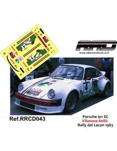 Porsche 911 SC Vilanova-Anllo Rally del Lacon 1983