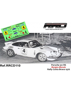 Porsche 911 RS Borges-Morais Rally Costa Brava 1976
