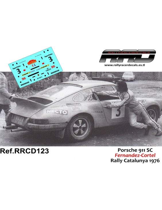 Porsche 911 SC Fernandez-Cortel Rally Catalunya 1976