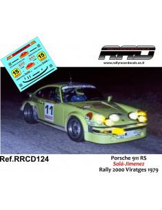 Porsche 911 Sola-Jimenez Rally 2000 Viratges 1979