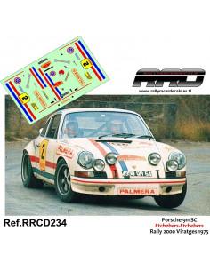 Porsche 911 Etchebers-Etchebers Rally 2000 Viratges 1975