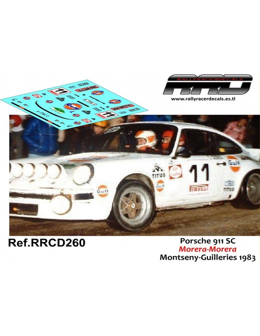 Porsche 911 SC Morera-Morera Criterium Montseny Guilleries 1983