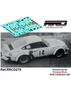Porsche 911 SC Perejoan-Boto Rally Catalunya 1981