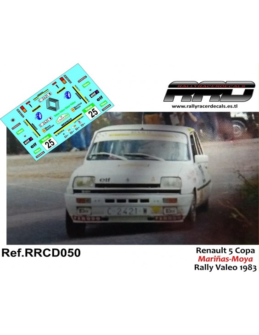 Renault 5 Mariñas-Moya Rally Valeo 1983