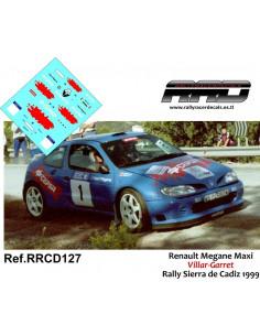 Renault Maxi Megane Villar-Garret Rally Sierra de Cadiz 1999