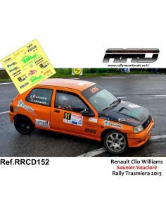 Renault Clio Williams Saunier-Vauclare Rally Trasmiera 2013
