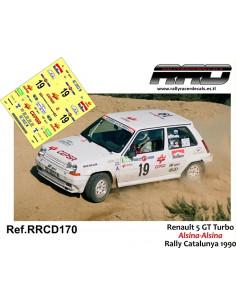 Renault 5 GT Turbo Alsina-Alsina Rally Catalunya 1990