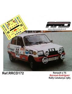 Renault 5 TS Boronat-Rodriguez Rally Catalunya 1985