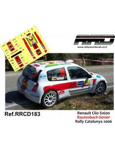 Renault Clio S1600 Rautenbach-Senior Rally Catalunya 2006