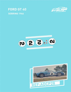 Ford GT40 Sebring 1966