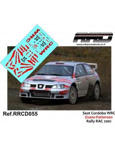 Seat Cordoba WRC Evans-Patterson Rally RAC 2001