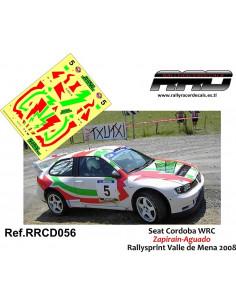Seat Cordoba WRC Zapirain-Aguado Rallysprint Valle de Mena 2008