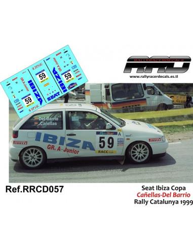 Seat Ibiza Copa Cañellas-Del Barrio Rally Catalunya 1999