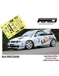 Seat Ibiza KitCar Zurita-Amigo Rally Girona 2008