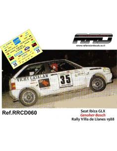 Seat Ibiza GLX Genoher-Bosch Rally Villa de Llanes 1988