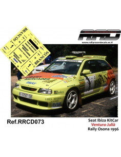 Seat Ibiza KitCar Ventura-Julia Rally Osona 1996