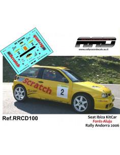 Seat Ibiza KitCar Fores-Aluju Rally Andorra 2006