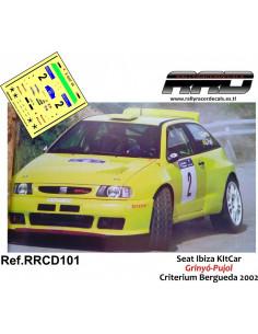 Seat Ibiza KitCar Grinyo-Pujol Criterium Bergueda 2002