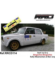 Seat 124 Bengochea-Bengochea Rally Ribamontan 2013