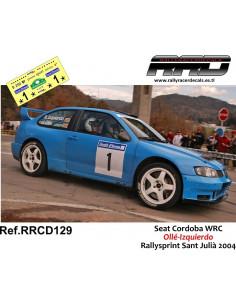 Seat Cordoba WRC Olle-Izquierdo Rallysprint Sant Julia 2004