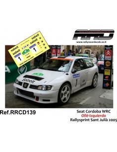 Seat Cordoba WRC Olle-Izquierdo Rallysprint Sant Julià 2005