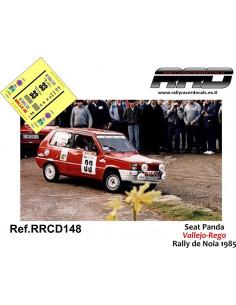 Seat Panda Vallejo-Rego Rally Noia 1985