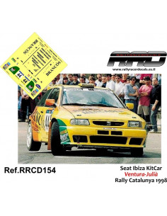 Seat Ibiza KitCar Ventura-Julia Rally Catalunya 1998
