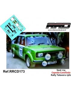 Seat 124 Cepeda-Canellada Rally Talavera 1982