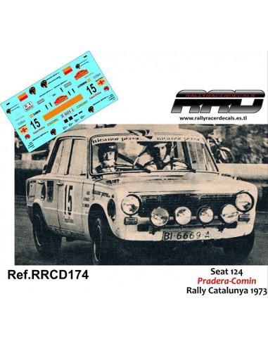 Seat 124 Pradera-Comin Rally Catalunya 1973