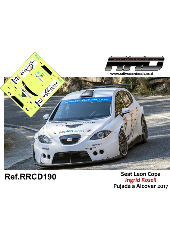 Seat Leon Copa Ingrid Rosell Pujada a Alcover 2017