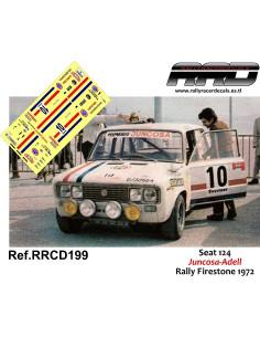 Seat 124 Juncosa-Adell Rally Firestone 1972