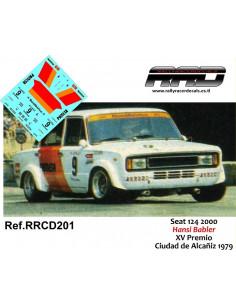 Seat 124 2000 Babler XV Premio Ciudad de Alcañiz 1979