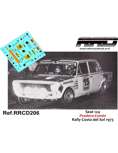 Seat 124 Pradera-Comin Rally Costa del Sol 1973
